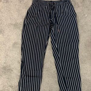 Tommy Hilfiger stripped trousers